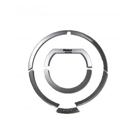Handle with framework and structure for Roomba 800 series