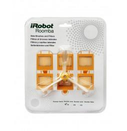 iRobot® Set de 3 brosses latérales et 6 filtres Roomba 700 series