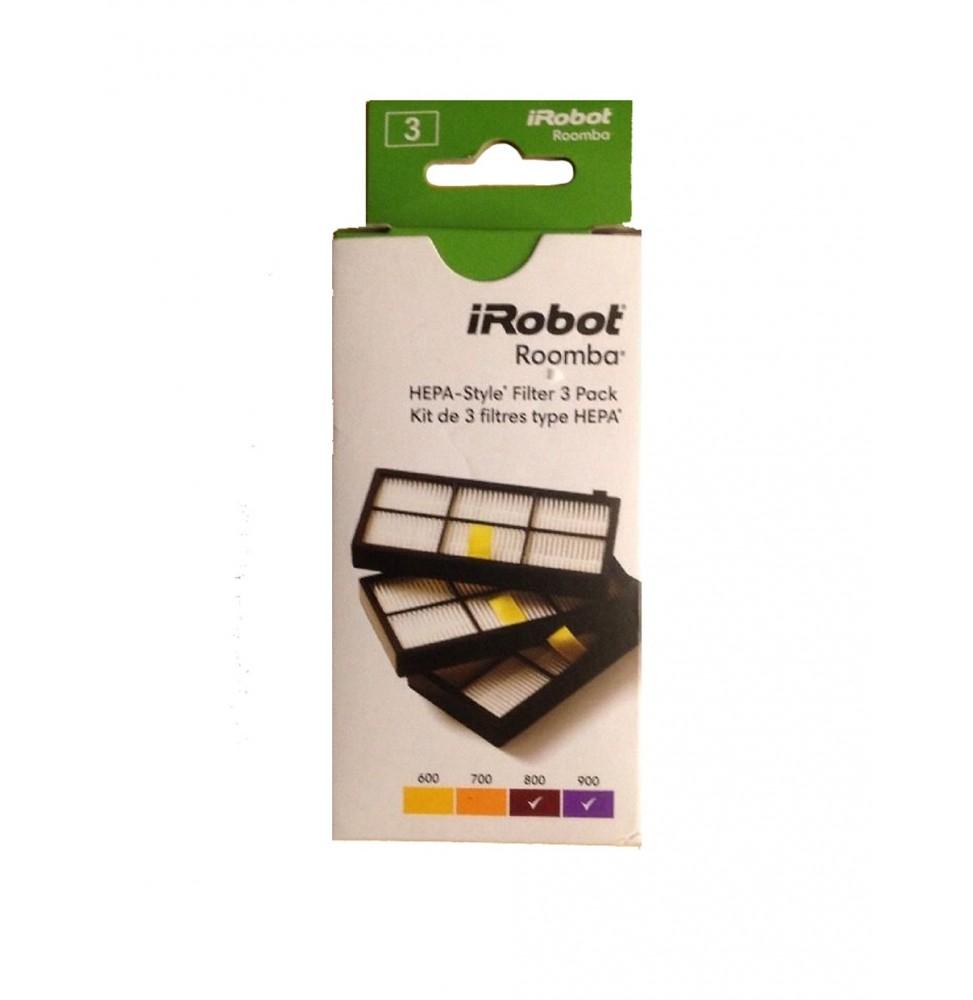 iRobot® Pack de 3 filtros para Roomba serie 800 y 900