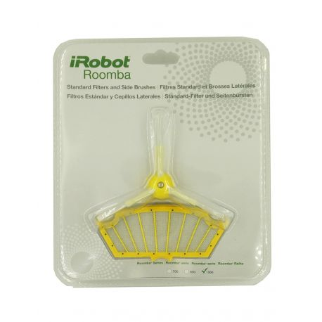 iRobot® Kit 3 filtros y 3 cepillos laterales - Roomba serie 500