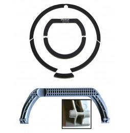 Asa con marco y estructura para Roomba serie 700-1
