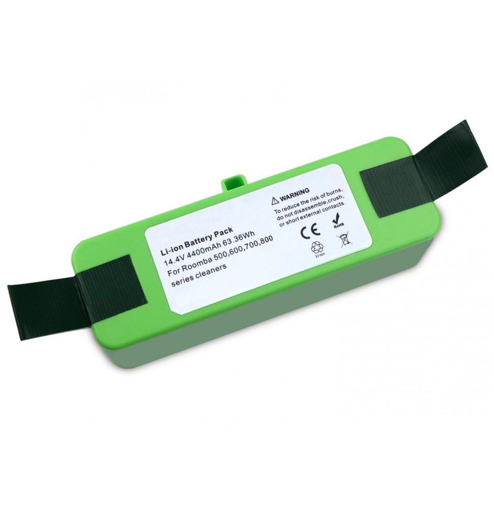 LITHIUM ULTRA LIFE Batterie pour Roomba (500, 600, 700, 800 et 900)